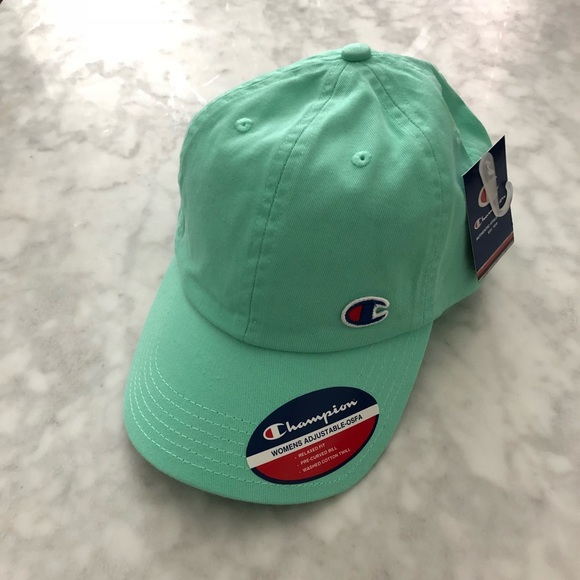 813cfe4b24cfc Urban Outfitters Champion Mint Hat  NEW